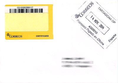 Espa a correos el proyecto 39 etiqueta nica 39 for Oficina de empleo por codigo postal