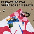 Tourist postcard remailing in Spain