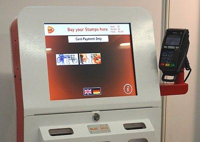 埃森国际邮票展览会上的荷兰NL01智能AR邮亭