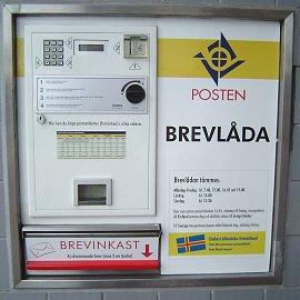 奥兰群岛使用的Frama电子邮票机