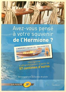 france atm issue the launching of the frigate hermione rochefort 2012. Black Bedroom Furniture Sets. Home Design Ideas