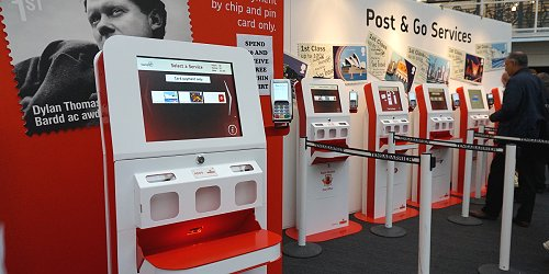 The ATMs in the United Kingdom  2015, Post & Go issues