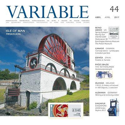 西班牙电子邮票杂志《VARIABLE》第四十四期目录